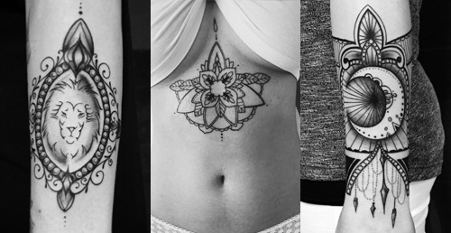 Tattoos by Wilma Woodstock