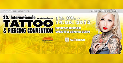20. Tattoo & Piercing Convention 2015