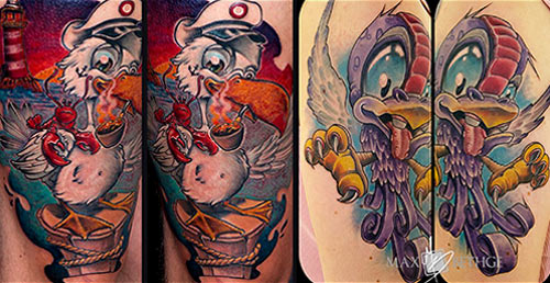 Tattoos by Max Bethge